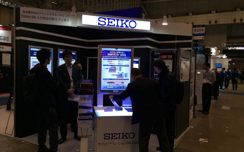 Seiko Solutions demonstrates syn1588® & SMPTE2059 at the Inter BEE 2017