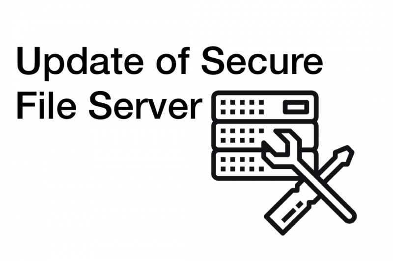 Update of Secure File Server