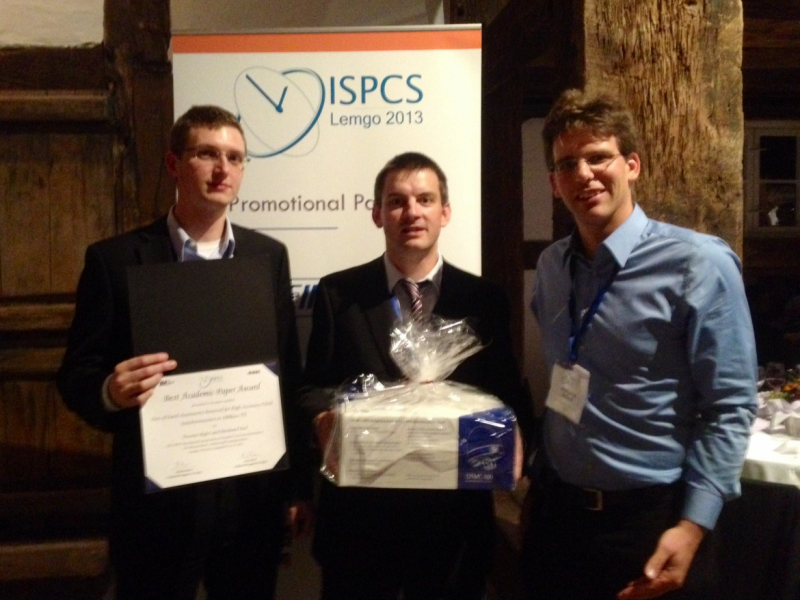 ISPCS '13: Best Academic Paper Award