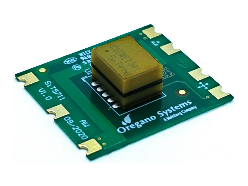 Oregano Systems uses new MEMS oscillator technology