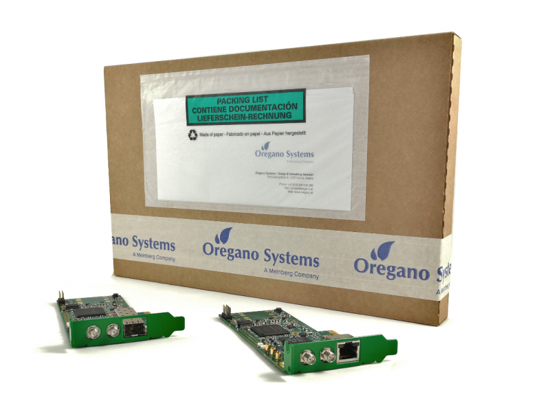 New ECO-friendly packaging for the syn1588® PCIe NIC