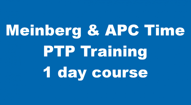 Meinberg & APC Time Deploying IEEE 1588 PTP | Training Course | 22 May 2019